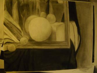 Drawing 1: Still Life by BFan1138