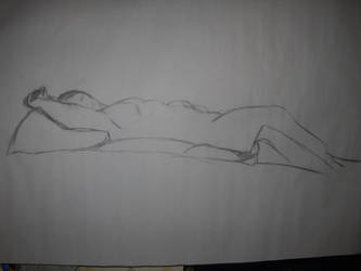 Life Drawing: Perspective 3 by BFan1138