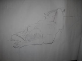Life Drawing: Perspective 4 by BFan1138