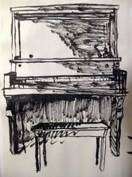 Piano Sketch by BFan1138