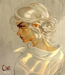 Ciri by AnnieJang
