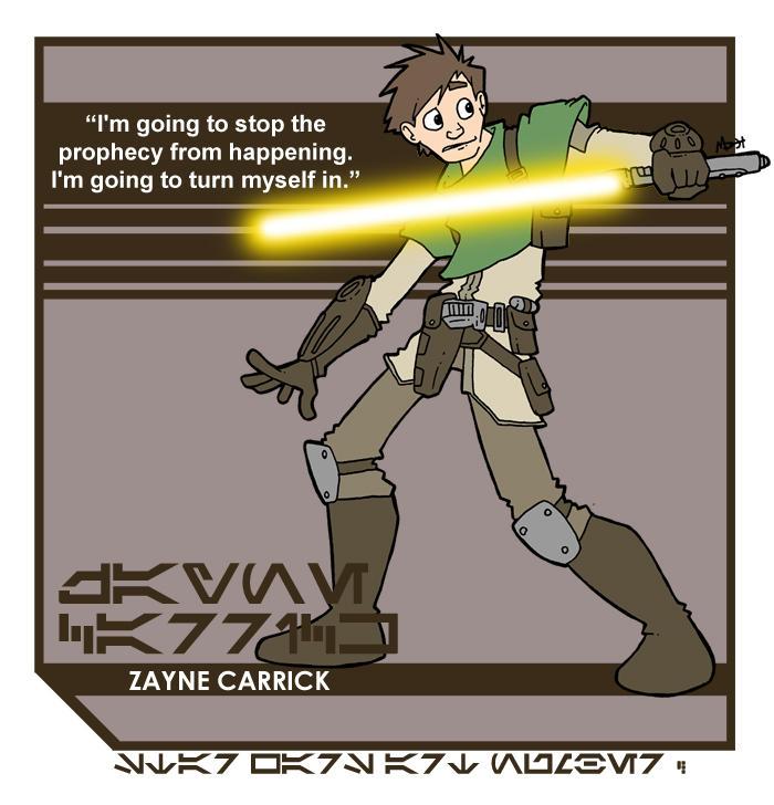 Star Wars Art Zayne Carrick By Toadcroaker On Deviantart