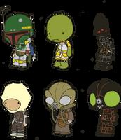 Lil' Bounty Hunters by toadcroaker