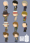 Lil' Doctor Who by toadcroaker