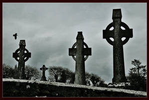 grave yard by Demonoftheheavens
