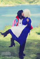 Howl and Sophie III by LauraNikoPhantomhive