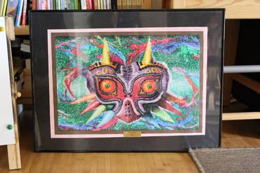 Majora's Mask Pointillism by KawakineAlice
