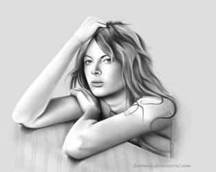 Emily Beecham by Kuronah