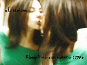 Kissing Mirrors by Liteless