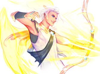 Eletric Angel by GarnetDawn