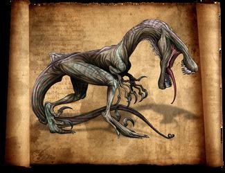 NightmareSaur by LadyDeuce
