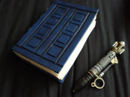 Dr Who prop, River Song diary by Hordriss