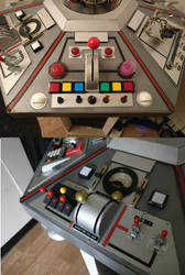 More Console Upgrades - Doctor Who by Hordriss