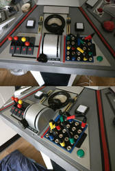 Switchboard Added to TARDIS Console by Hordriss