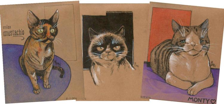 Retratos-personalizados-mascotas-mepol-ilustracion by mepol