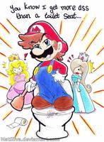 Mario- Potty Mouth by NatSilva