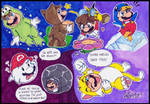 Mario: Who started it will usually finish it. by NatSilva