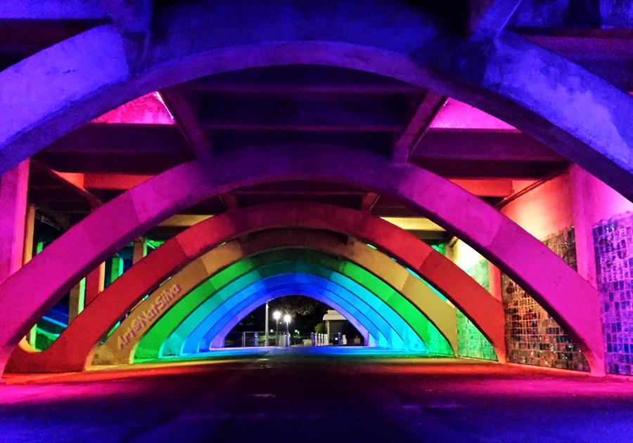 Under The Hippie Bridge by NatSilva