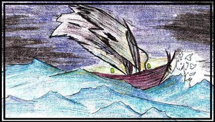 ghost ship by sarenokai