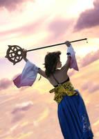 Yuna-dance in the skies by Aquarina12