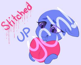 YCH~ Happy Valentines Day~ Stitched up by PurpleGrim40