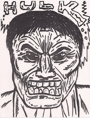 Hulk Angry by slarity2045
