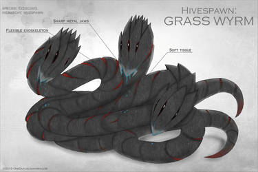 Xenobiology: grass wyrm by OneOut