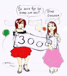 color 3000 hits for heartgear by jimmyinwhite