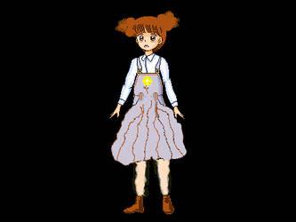 overall dress by jimmyinwhite
