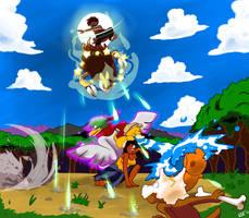 PKMN-Rainbow: Quest 5: Test of will by studiovairi