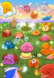 Kirby Summer party by studiovairi