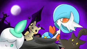 Night of the Ghost Pokemon by 7colors0