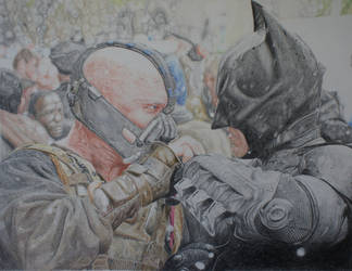 Batman Bane COMPLETE!! No, really!! by TBabing