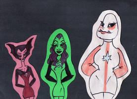 Lantern Ladies by iiyalovestobite
