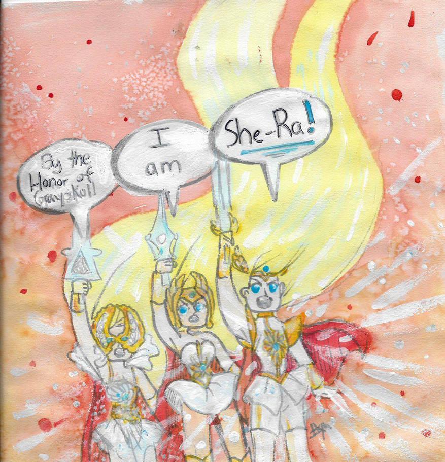I am She-Ra by iiyalovestobite