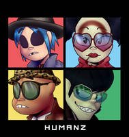 Humanz Cover Redraw by aguchucchi