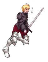 Final Fantasy Tactics - Ramsa by pyrogina