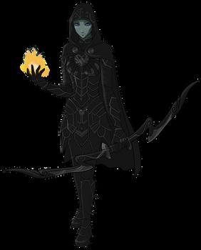 Skyrim - Karliah with no mask by pyrogina
