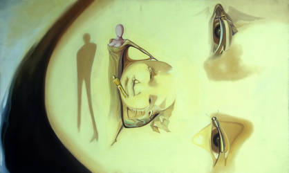 The inside child - optical illusion by JUST-inART