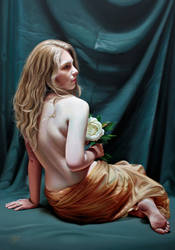 White Peony by Raipun