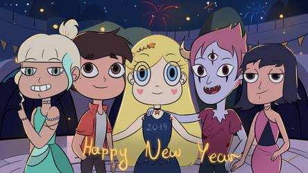 Happy New Year by ArtRezuna