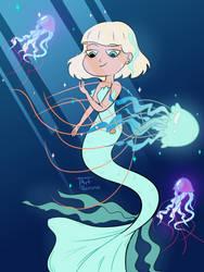 Jackie Mermaid by ArtRezuna