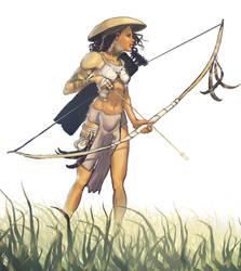 Scout - Princess Urduja by FROHBOY