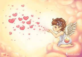 Spread the Love by DreamsOfALostSpirit