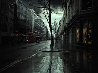 Rainy London by Bunny7766