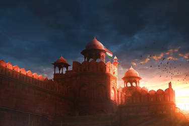 Red Fort by Bunny7766