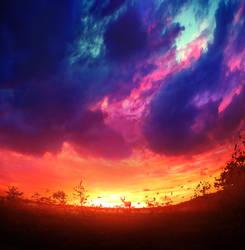 At Dawn by Bunny7766