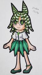 .: Inkedoptables Day 1 - Zebra Cactus :. PriceDrop by LeenaZenyo