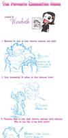 Fav Character meme: Bowser by MKDrawings