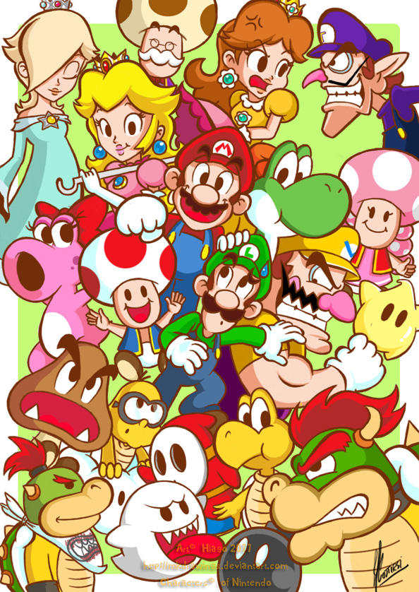 Mario's World by MKDrawings